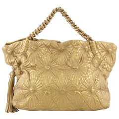 Chanel Ca D'Oro Tote Quilted Lambskin Large
