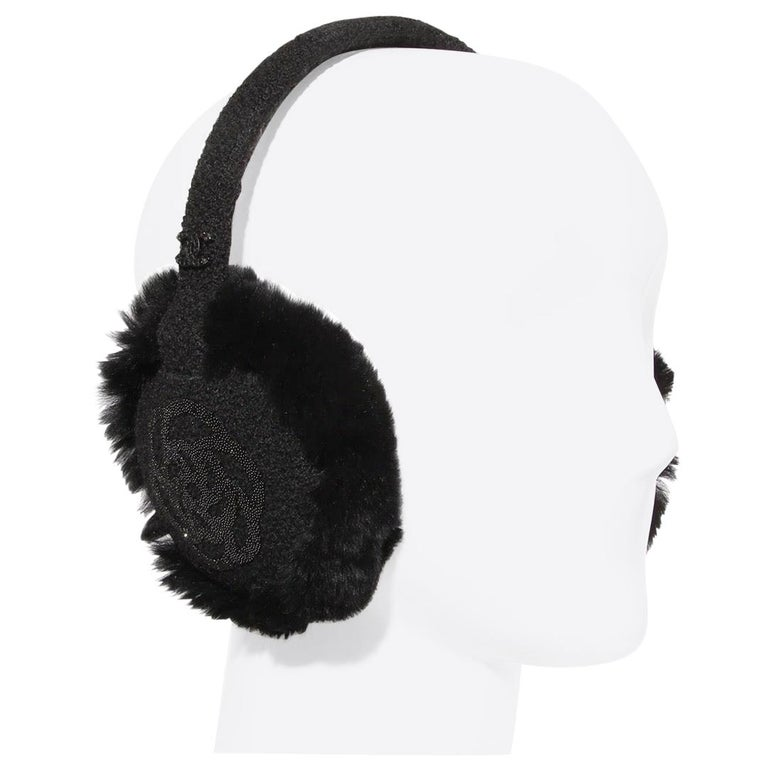 Chanel Camelia Earmuffs  For Sale