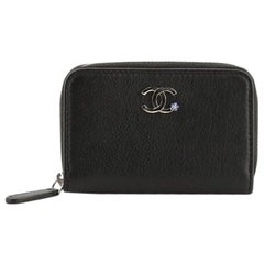 Chanel Camellia Coin Purse Goatskin