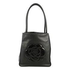 Chanel Camellia Tote Lambskin Medium