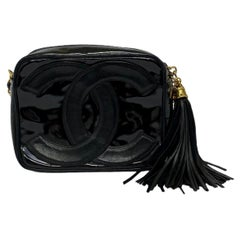 Chanel Camera Bag Vintage in Leather and Patent Leather