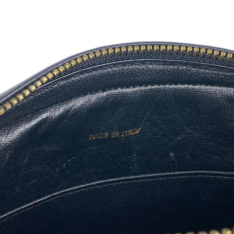 Chanel Camera Black Leather Crossbody Bag 9