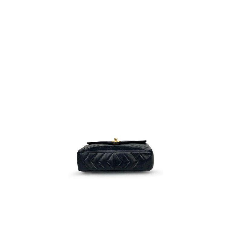 Chanel Camera Black Leather Crossbody Bag 1