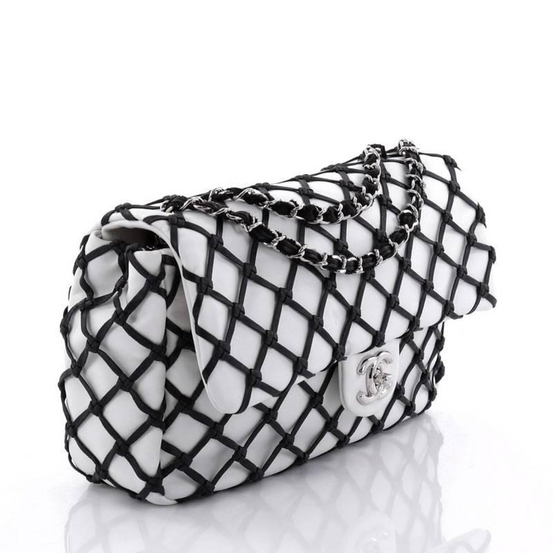 8e51dea31f27 Chanel Canebiers Flap Bag Calfskin Jumbo at 1stdibs