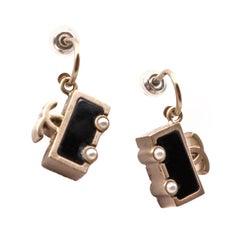 CHANEL Car Stud Earrings