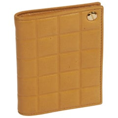 Chanel Caramel Chocolate Bar Leather Card Wallet