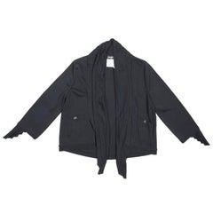 CHANEL Cardigan in Black Viscose Size 40FR