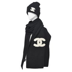 CHANEL Cashmere Hat & Scarf Shawl   New With Tags