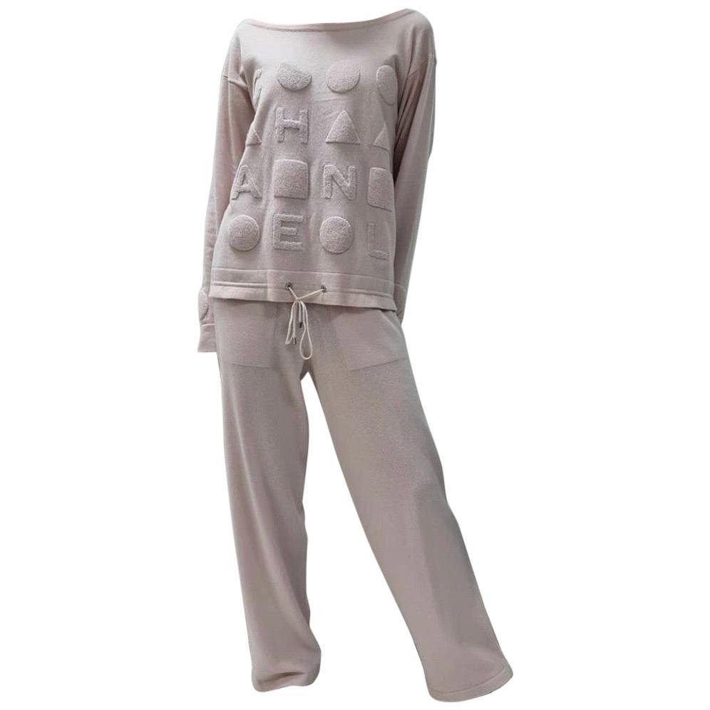 Chanel Cashmere Loungewear Set