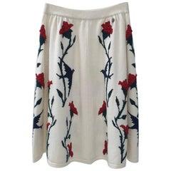 Chanel Cashmere Paris-Salzburg Skirt