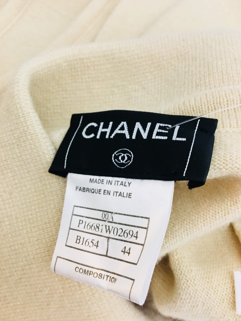 Chanel Cashmere Tank Top For Sale 5