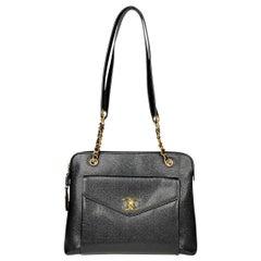 Chanel Caviar CC Tote Crossbody Bag