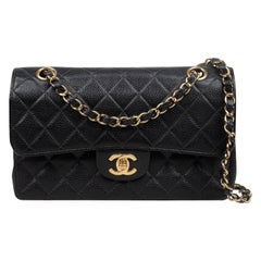 Chanel Caviar Small Classic Double Flap Bag