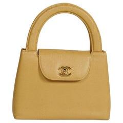 Chanel Caviar Tote Handbag