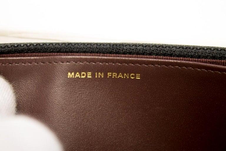 CHANEL Caviar WOC Wallet On Chain Black Shoulder Crossbody Bag Leather 12