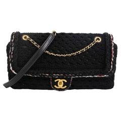 Chanel Cayo Coco Flap Bag Crochet Medium