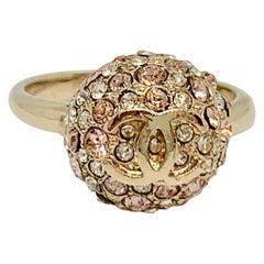CHANEL CC Ball Ring