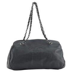 Chanel CC Bowler Bag Caviar Medium