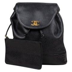 Chanel CC Caviar Backpack