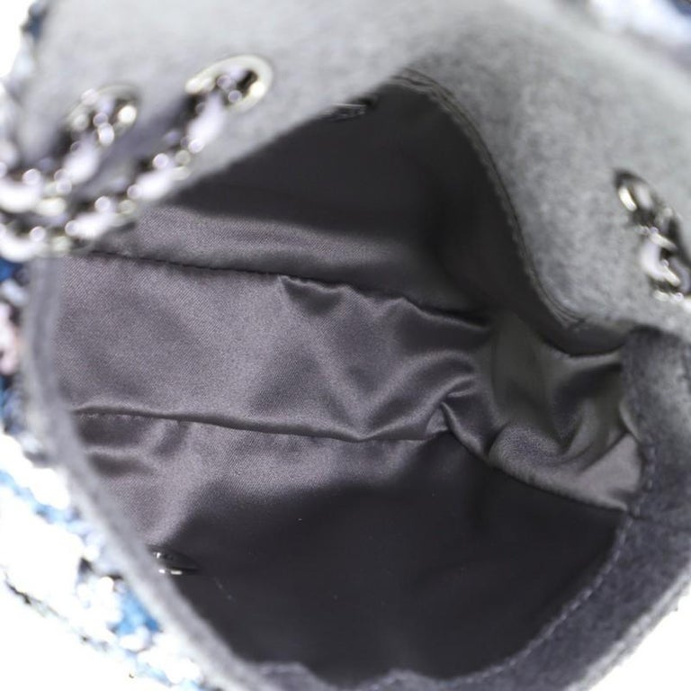 Chanel CC Chain Flap Bag Multicolor Sequins Mini 1