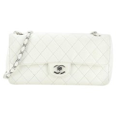 Chanel CC Chain Flap Bag Quilted Caviar East West