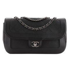 Chanel CC Chain Flap Bag Quilted Caviar Medium