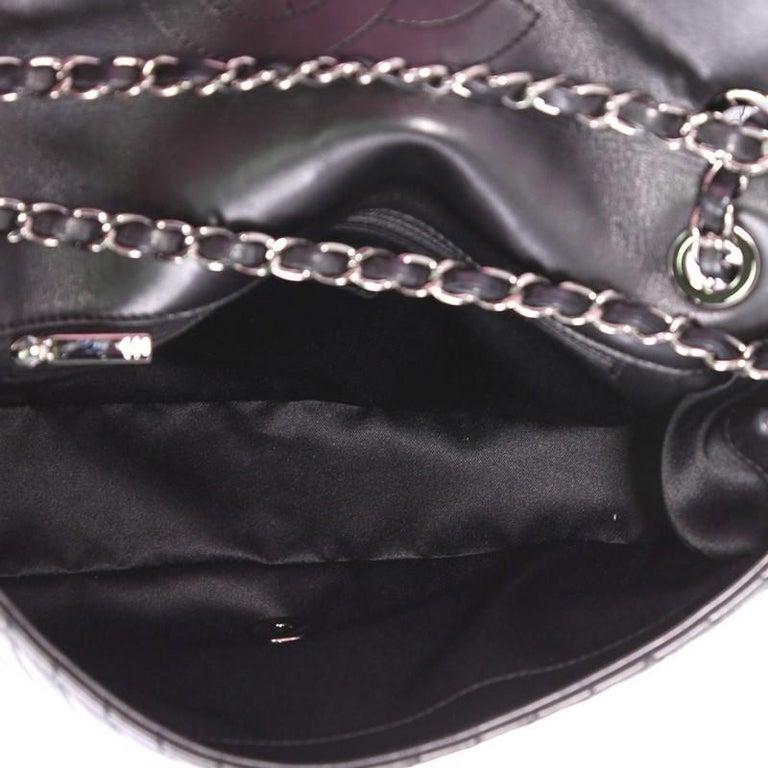 79befde83163eb Chanel CC Crossing Flap Bag Chevron Lambskin Medium For Sale 1