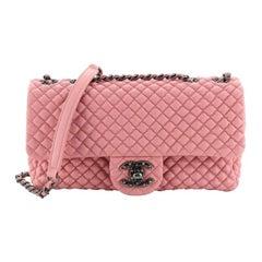 Chanel CC Flap Bag Micro Quilted Calfskin Medium