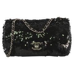 Chanel CC Flap Bag Paillettes Small