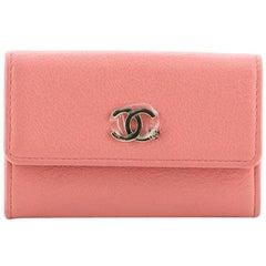 Chanel CC Flap Card Case Goatskin