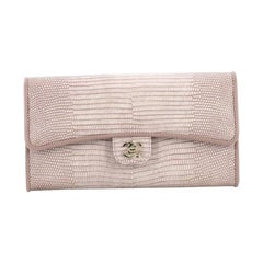 2ea5e022f63bdb Chanel CC Gusset Classic Flap Wallet Lizard. Chanel Butterfly Clutch Quilted  Leather Mini