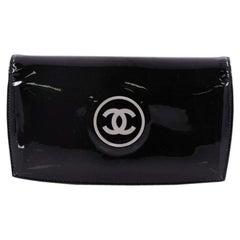 Chanel CC L-Yen Wallet Patent Long