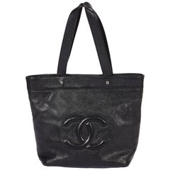 Chanel CC Logo Black Bag