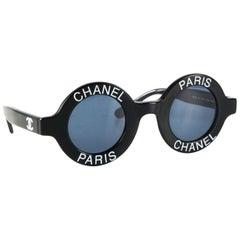 Chanel Sunglasses CC Logos Eye Wear Black Chanel Sunglasses