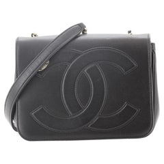 Chanel CC Mania Flap Bag Lambskin Small