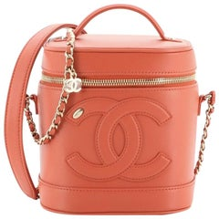 Chanel CC Mania Vanity Case Lambskin