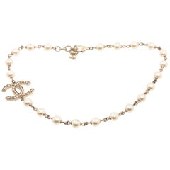 Chanel CC Pearl High Necklace