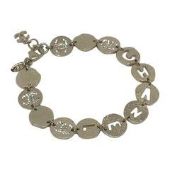 CHANEL CC Rhinestones Bracelet