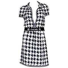 Chanel CC Signature Logo Lesage Fantasy Jacket Tweed Skirt / Dress Suit