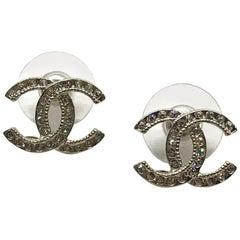 CHANEL CC Strass Earrings
