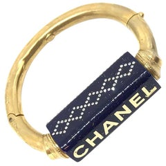CHANEL Ceramic Blue Bracelet