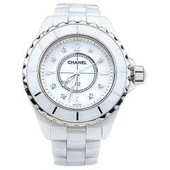 Chanel Ceramic White J 12 Watch