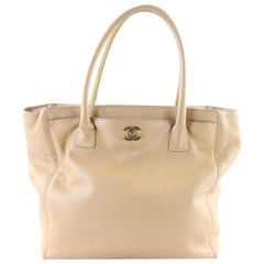 Chanel Cerf 5cr0105 Beige Tote