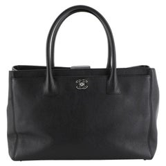 Chanel Cerf Executive Tote Leather
