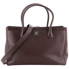 Chanel Cerf Executive Tote Leather Medium