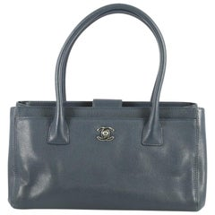 Chanel Cerf Executive Tote Leather Small