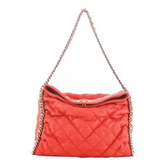 Chanel Chain Around Hobo Quilted Washed Lambskin
