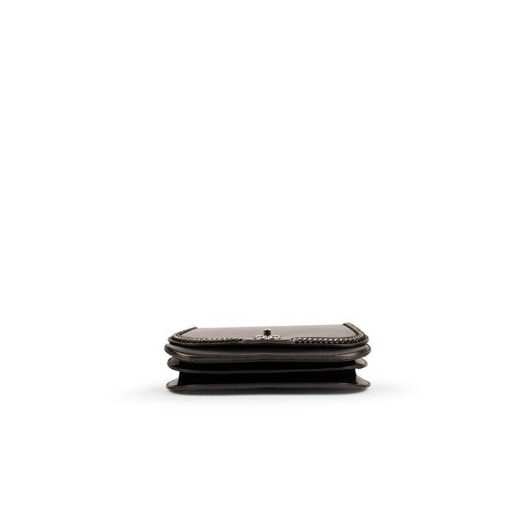 Chanel Chain Around Medium Crossbody Black Flap Bag For Sale 1