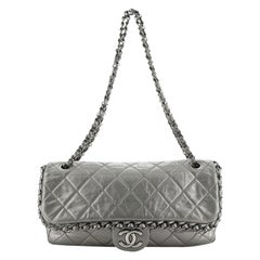 Chanel Chain Me Flap Bag Quilted Calfskin Jumbo