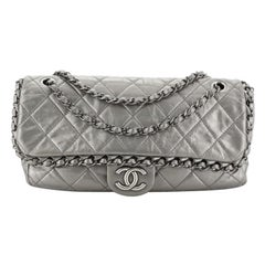 Chanel Chain Me Flap Bag Quilted Calfskin Medium